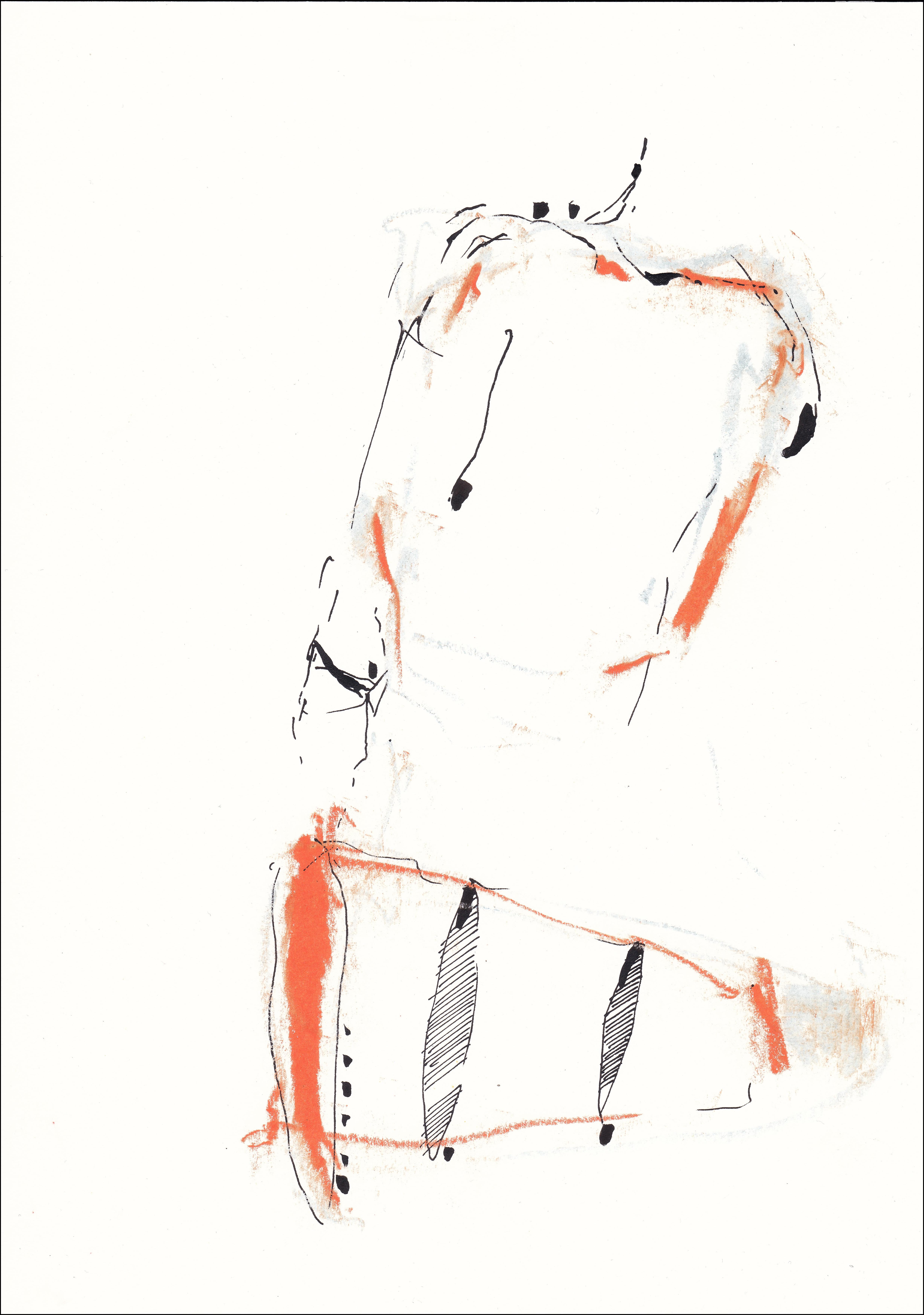 L CHAOUAT dessin 06 21x30 cm