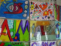 Pupils' designs
