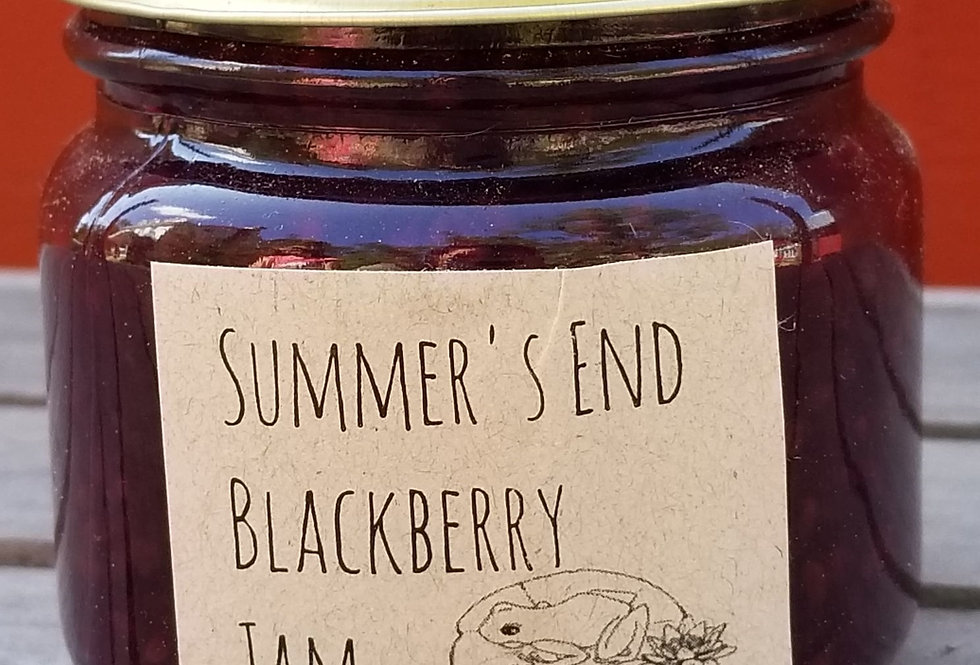 Summer's End Blackberry Jam
