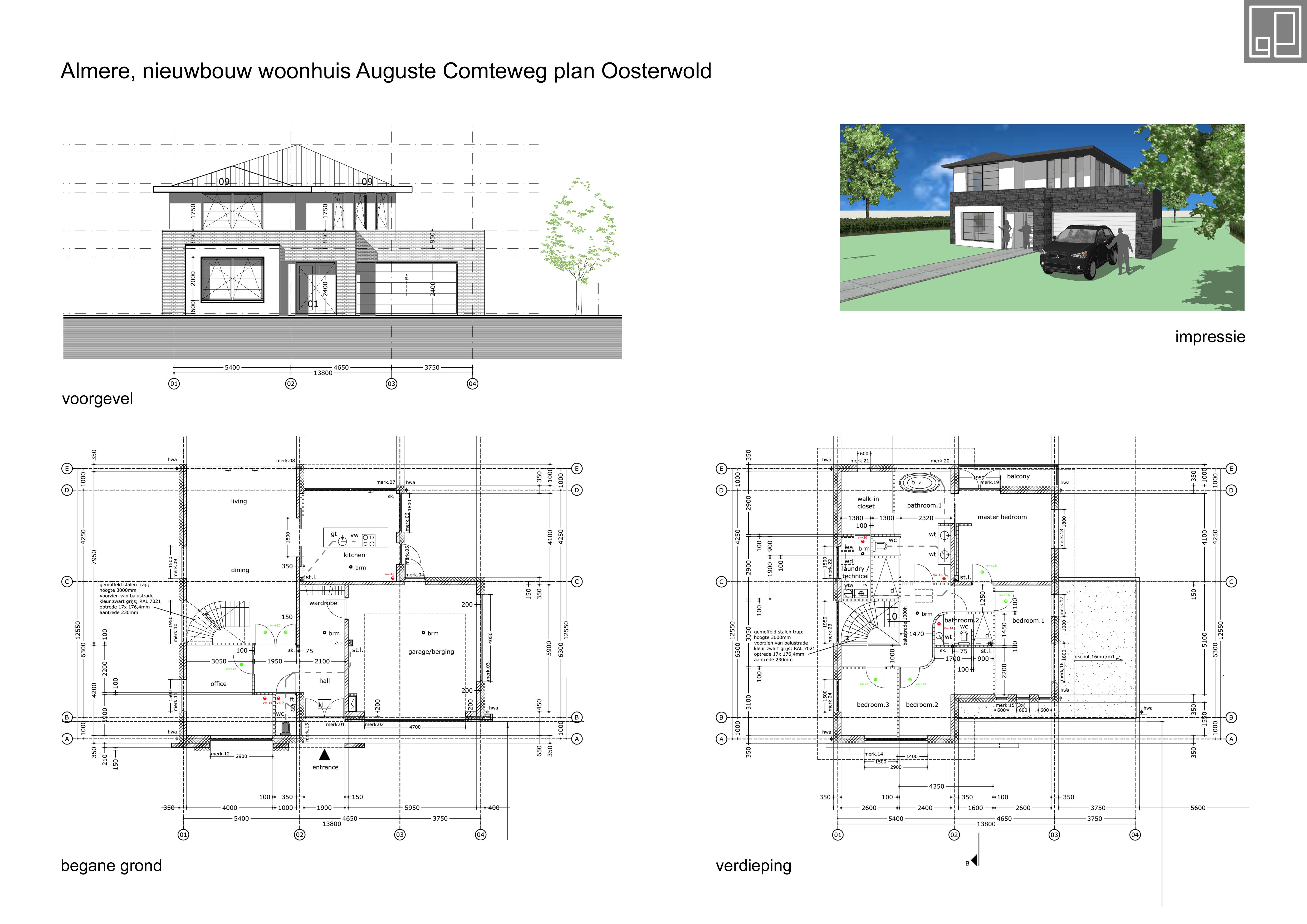 Nieuwbouw woonhuis Almere