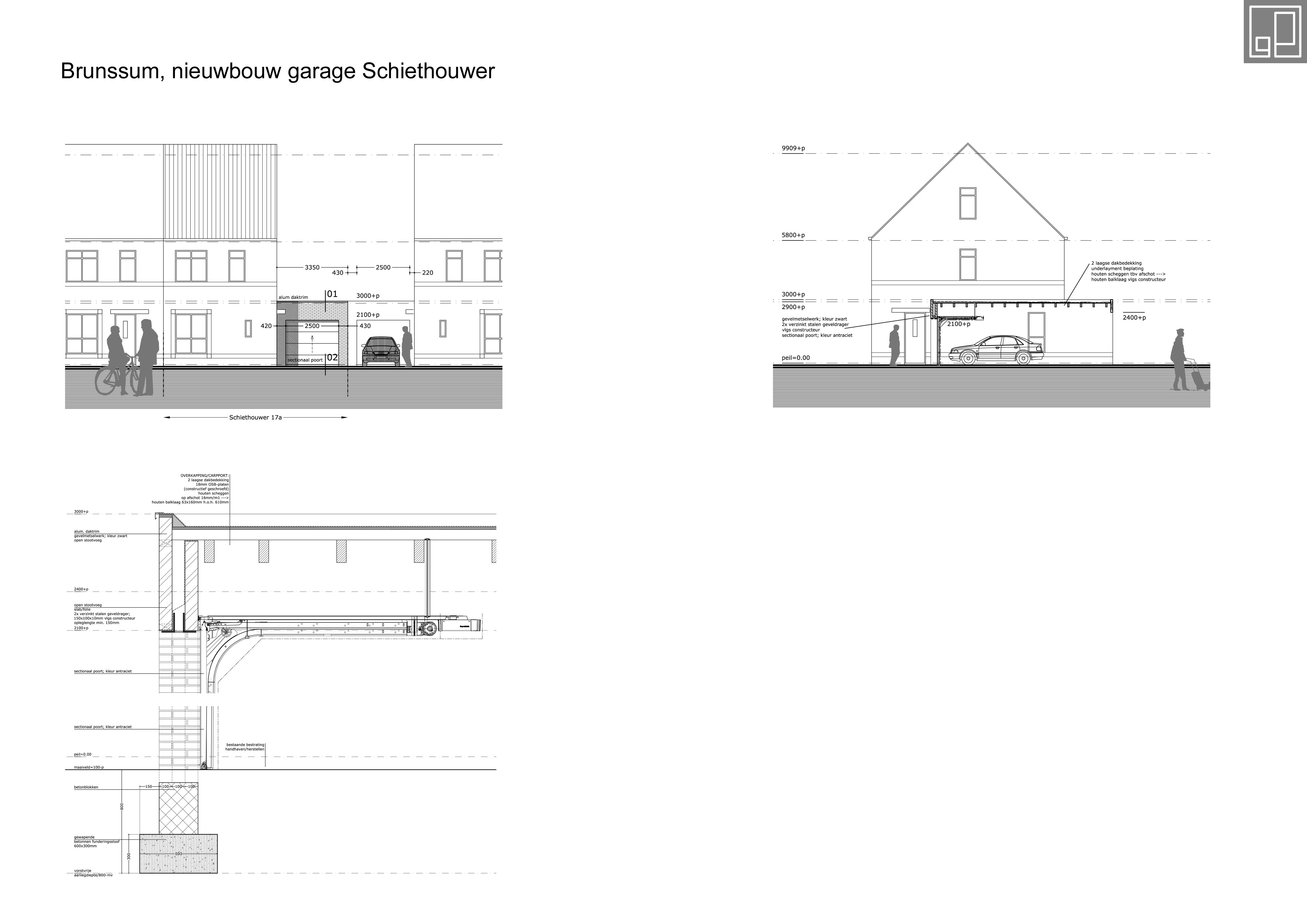 Garage woonhuis Brunssum