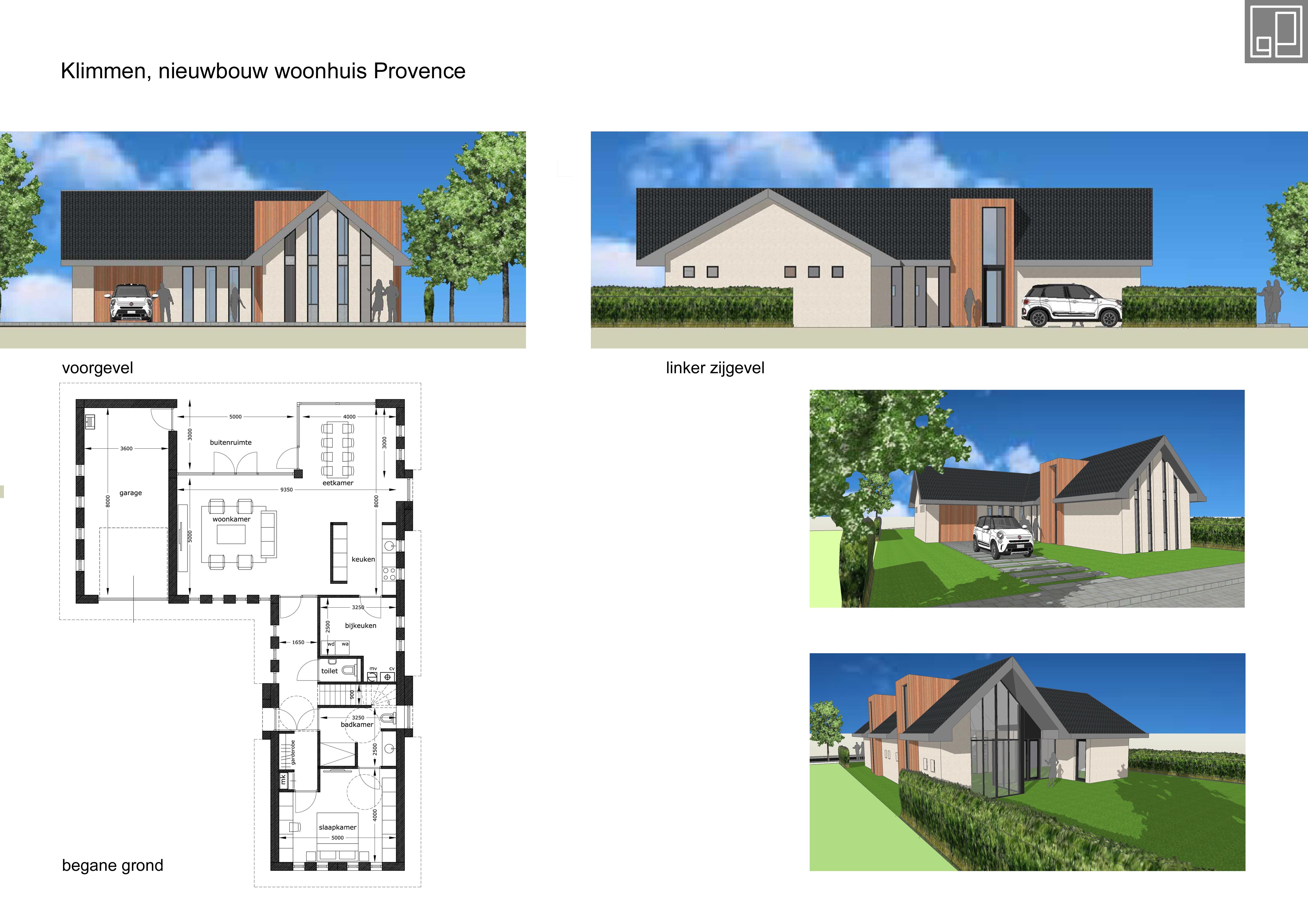 Nieuwbouw woonhuis Klimmen