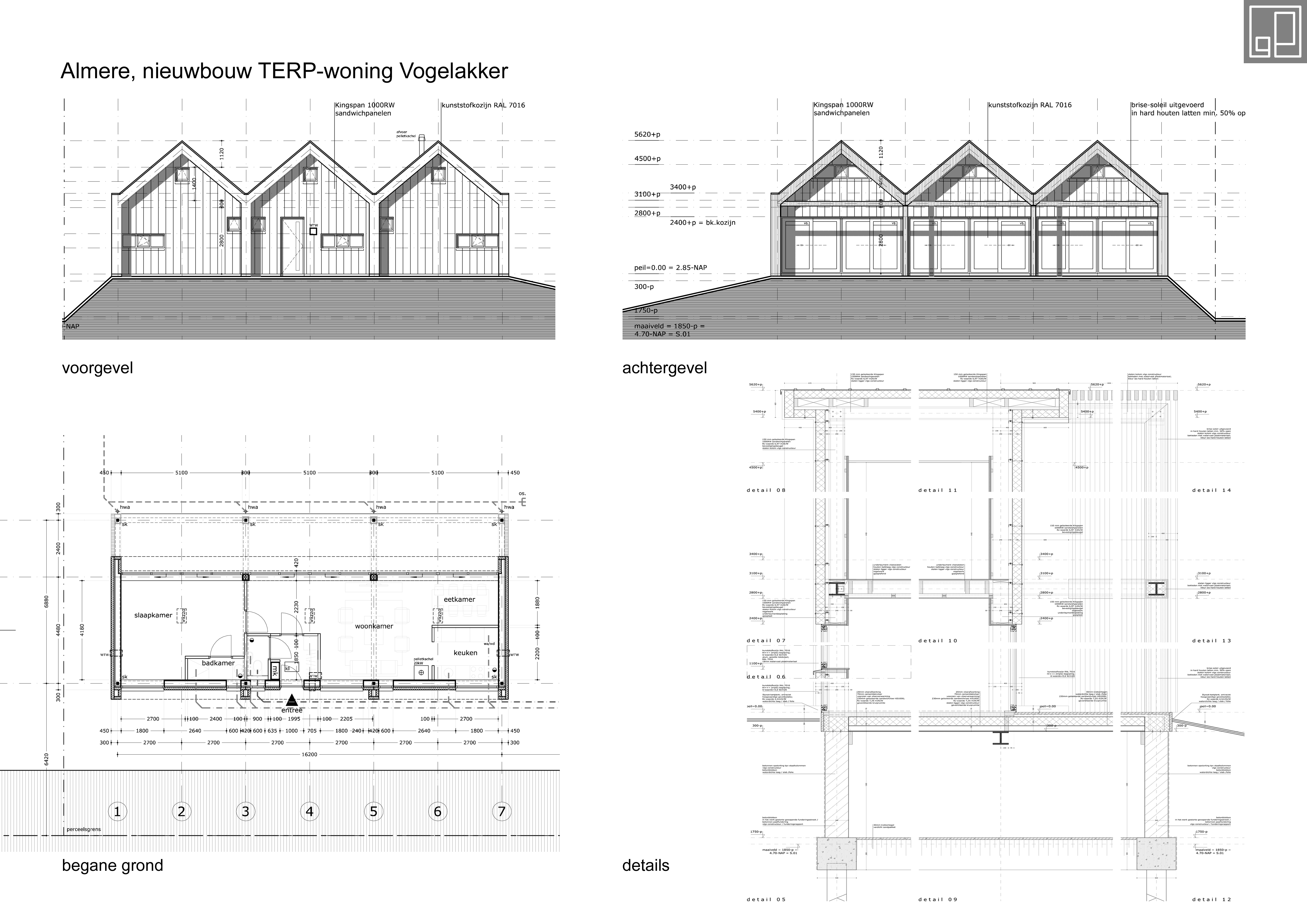 Nieuwbouw TERP-woning Almere