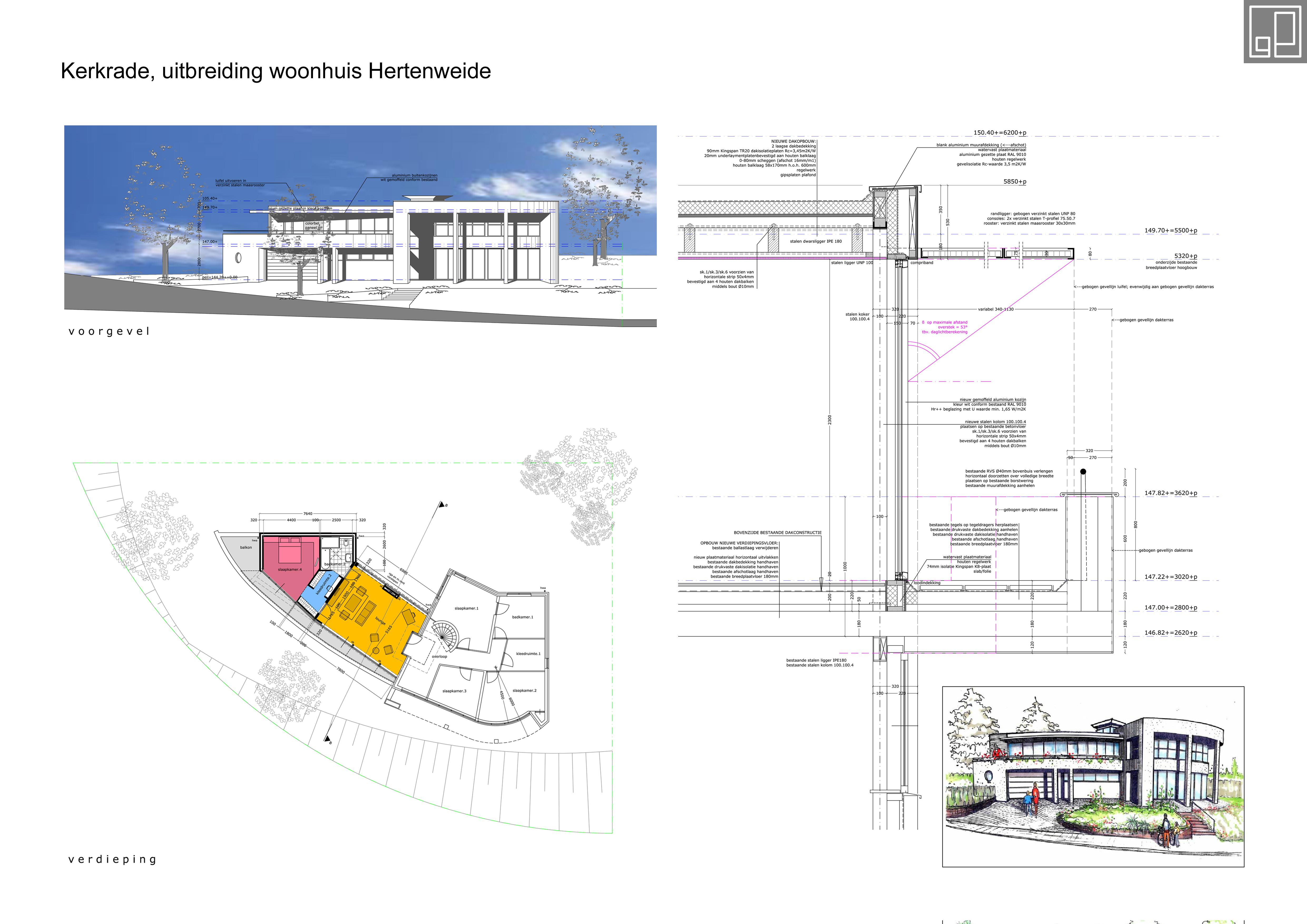 Uitbreiding woonhuis Kerkrade