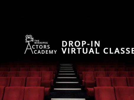 DROP-IN ONLINE CLASS ANNOUNCEMENT!
