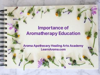 Importance of Aromatherapy Education