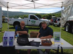 Scot and Lloyd at Touch a Truck