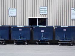 Recycle drop off containers