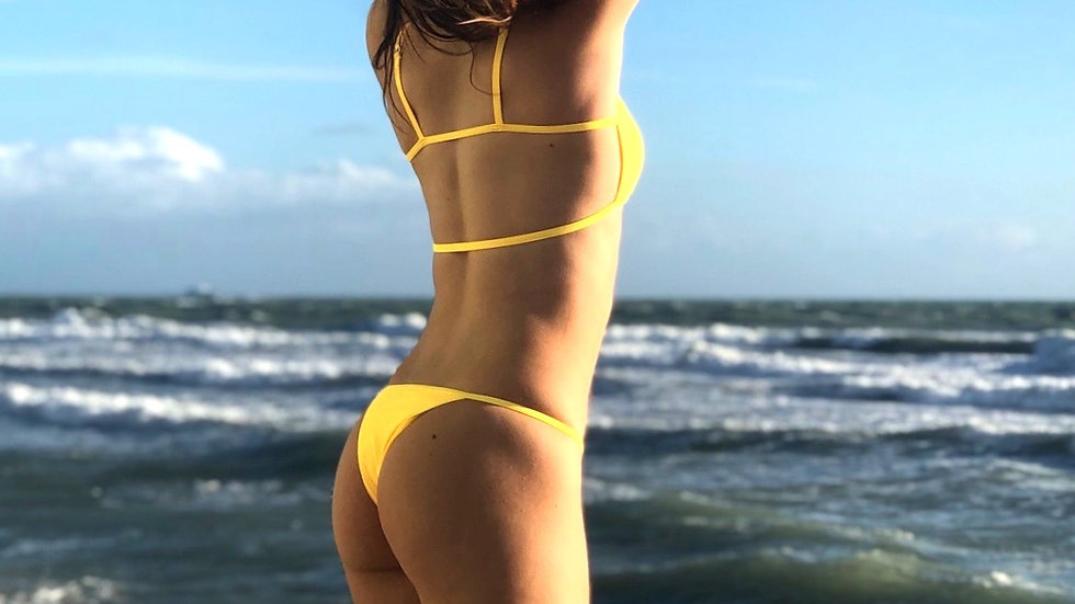 Uh Huh Hunny Yellow Bottoms