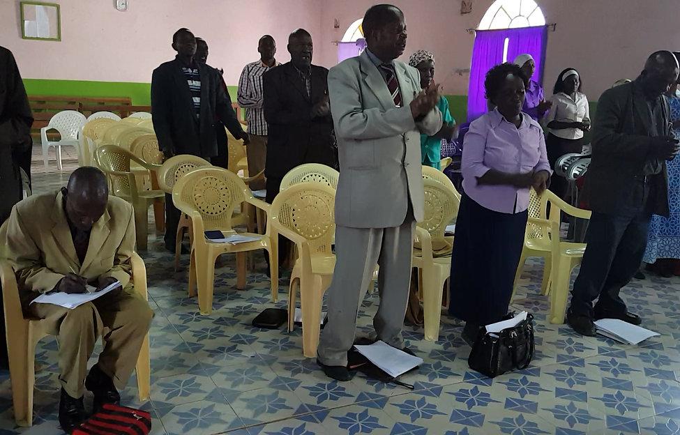 Molo Baptist Church Leadership Training 2016