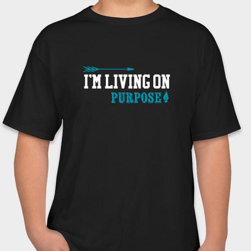 """Living on Purpose"" T-shirt"