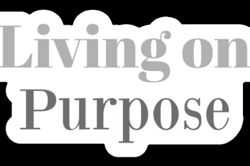 Living on Purpose Magnet