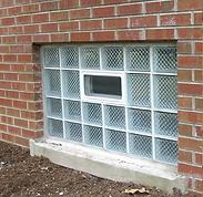 Chicago Glass Block Basement Window