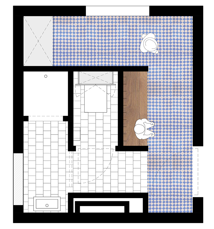 2009-Architectenbureau KNAP-White Cube-Plan