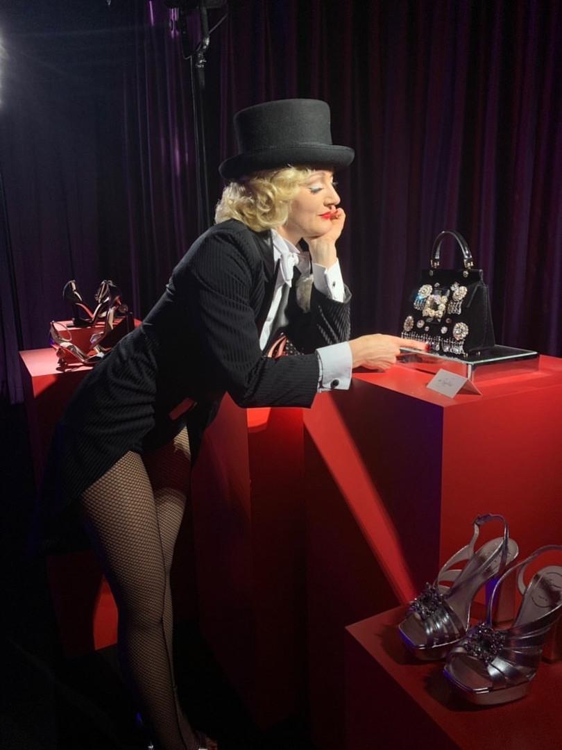 Ulrike Storch Footjuggler Antipodist | Marlene Dietrich Lookalike Impersonator | Vintage Model | Circus Cabaret Star