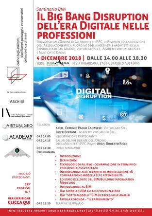 Il big bang disruption dell'era digitale nelle professioni 4_12_2018