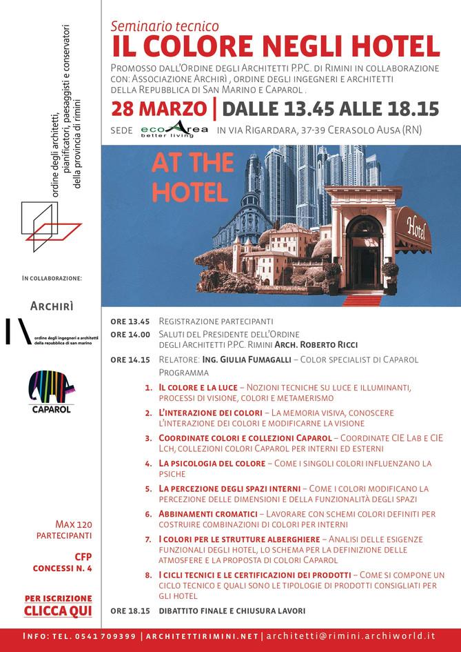 Il colore negli hotel 28_03_2019