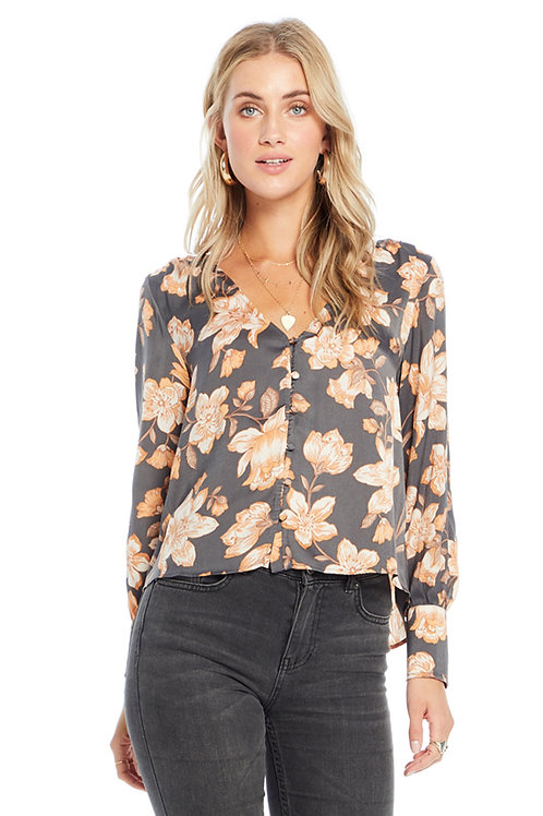 Mercy Blouse: Morning Blossom