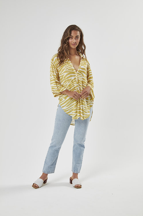 Lina Button Down