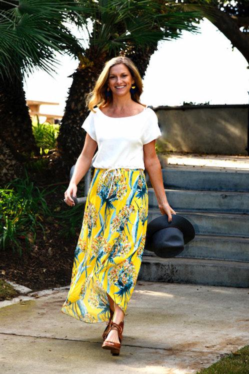 Pineapple Express Wrap Skirt