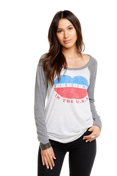 Kissing in the USA longsleeve: Chaser