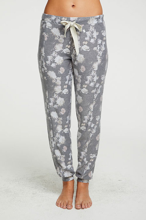 Cozy Knit seamed slouchy jogger