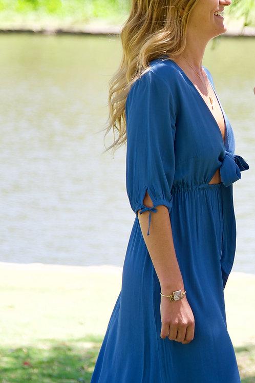 Torch Dress by Aila Blue- Moonlight Blue