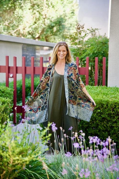 Contemporary Velvet Kimono