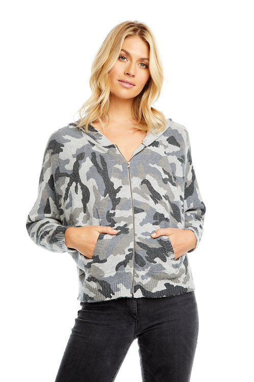 Camo dolman hoodie by Chaser