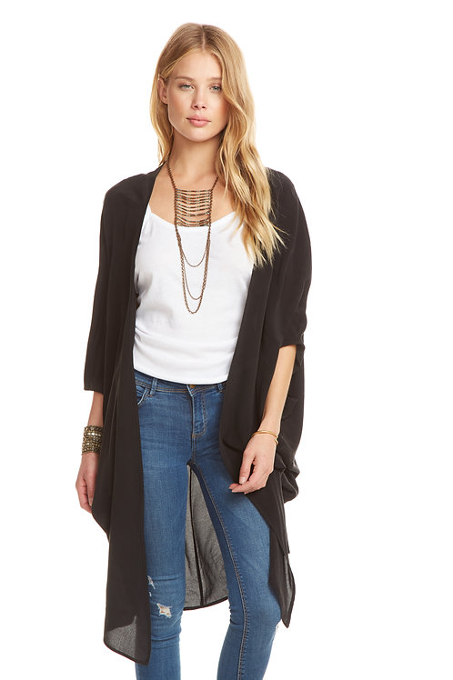 Chaser: Silk Cocoon Cardigan