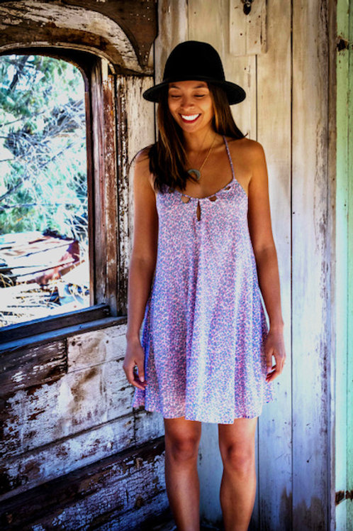 Rodeo mini dress: Wildcat Grey Peach