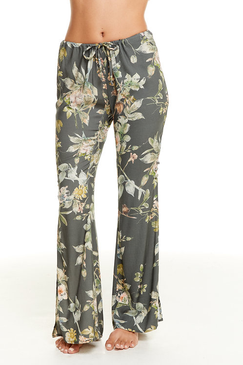 Floral Flare pant: Chaser