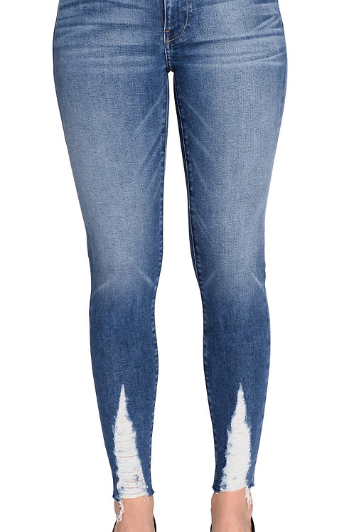 Lily mid-rise skinny: amuse