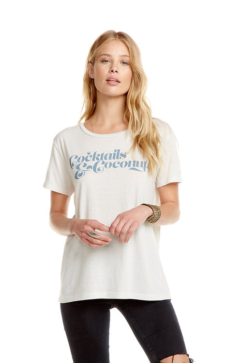 Chaser tee: Cocktails & Coconuts