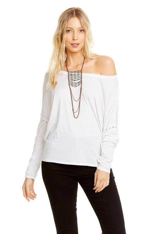 Lace up arm dolman: Chaser
