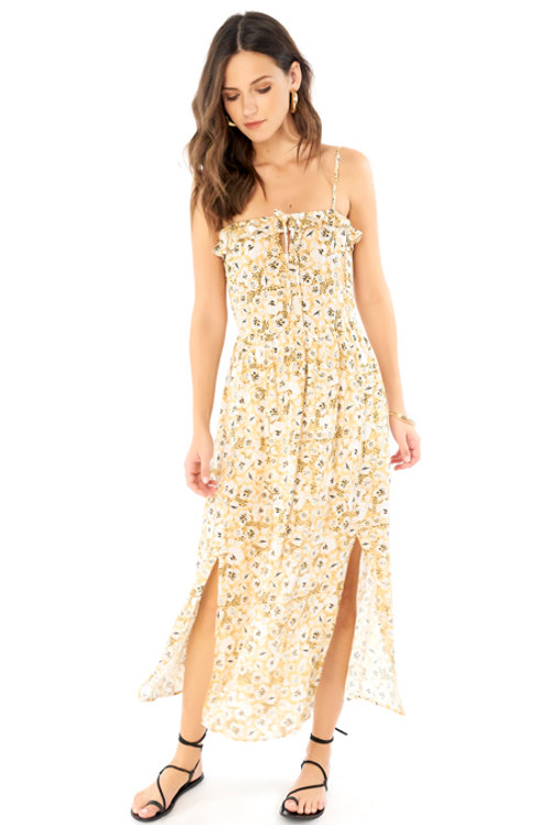 Paisley Floral Dress: Saltwater Luxe