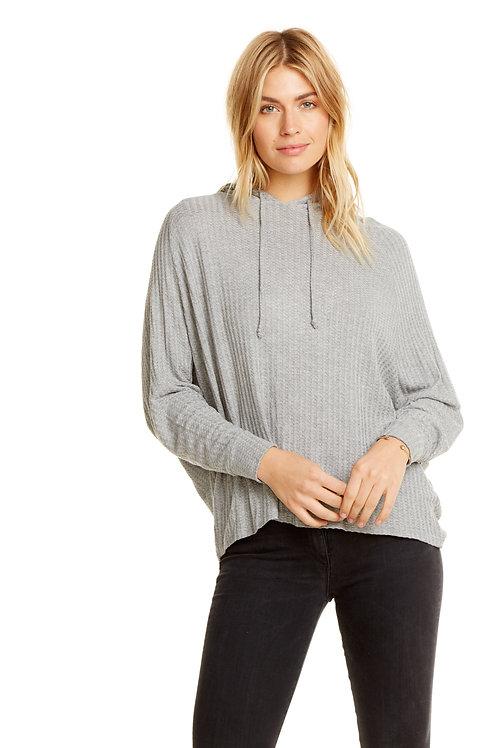 Raglan Sleeve dolman pullover hoodie