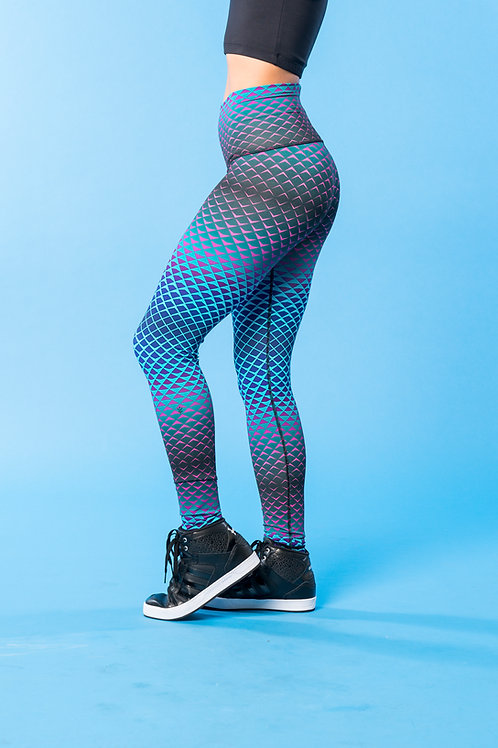 Infinity Flex Legging: Mermaid