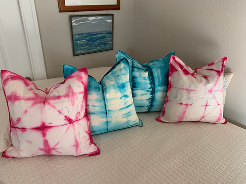Hand dyed pillow covers(set of 2)