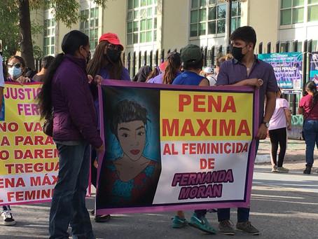 """""""No voy a parar hasta que le den  pena máxima al asesino de mi hija"""": mamá de Fernanda"""