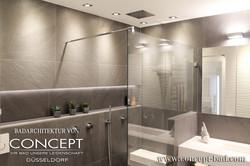 Badezimmerarchitektur concept bad