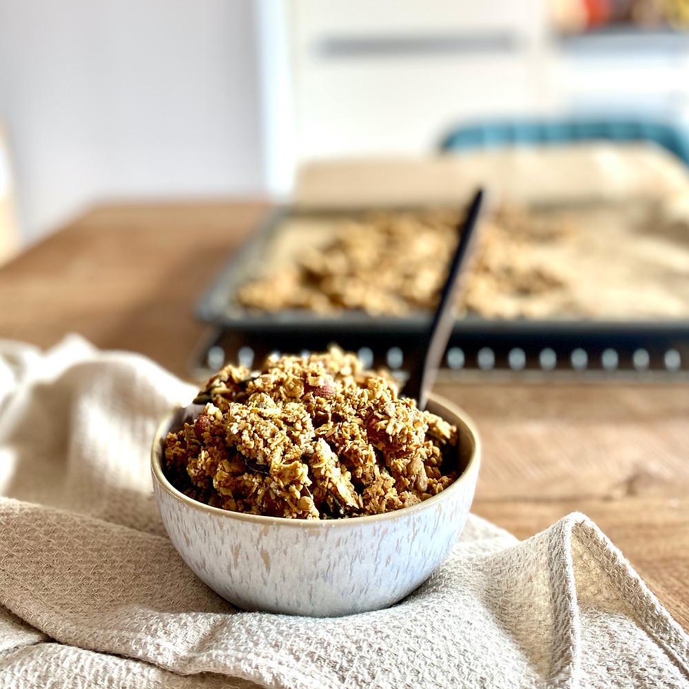 Knusprig und mit extra großen Stücken: Das perfekte Granola