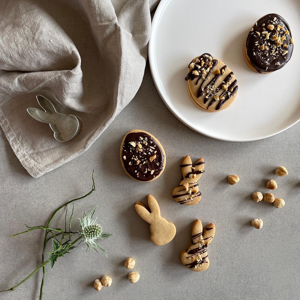 Diese veganen und zuckerfreien Plätzchen sind perfekt für Ostern