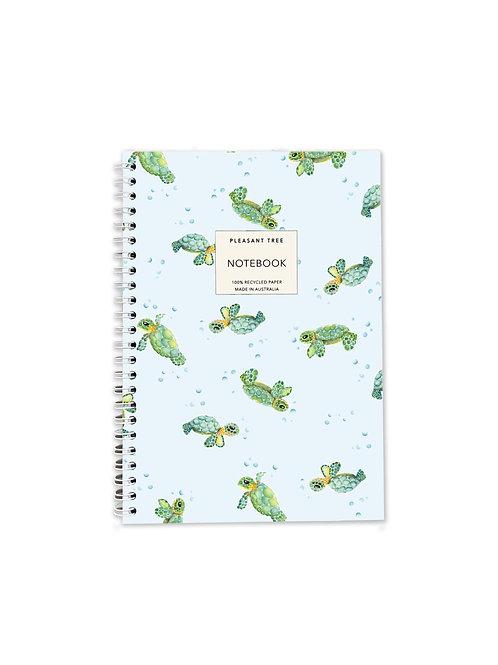 A5 Spiral Notebook - Sea Turtles