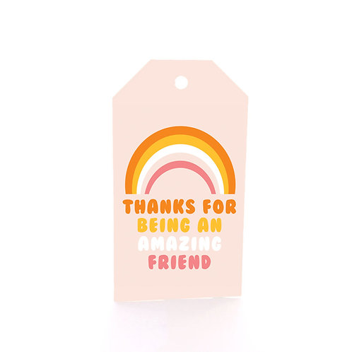 Gift Tag 6 pack - Amazing Friend