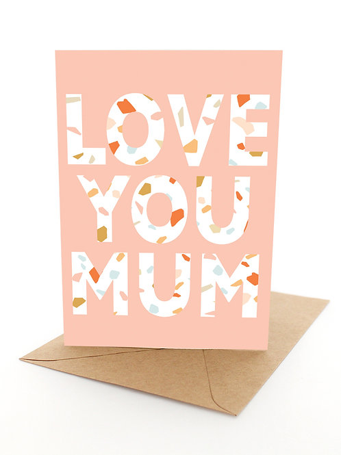 Love You Mum Letters