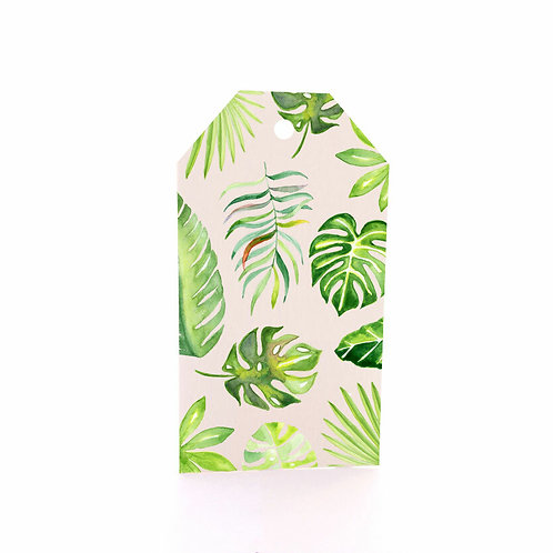 Gift Tag 6 pack - Scattered Palms