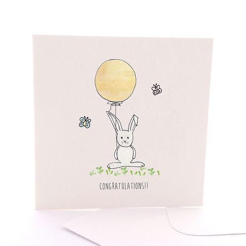 Bunny Congrats