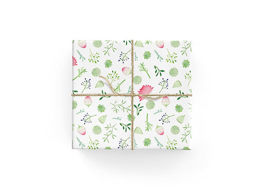 Wrapping Paper - Leafy Scatter