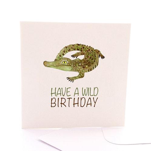 Birthday Croc